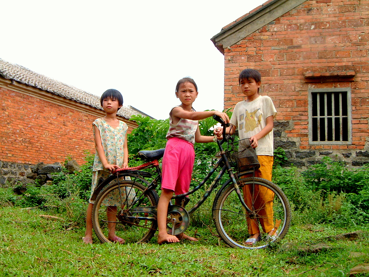 Children in Guangdong, China