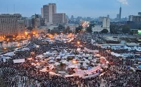 Tahir Square during protests