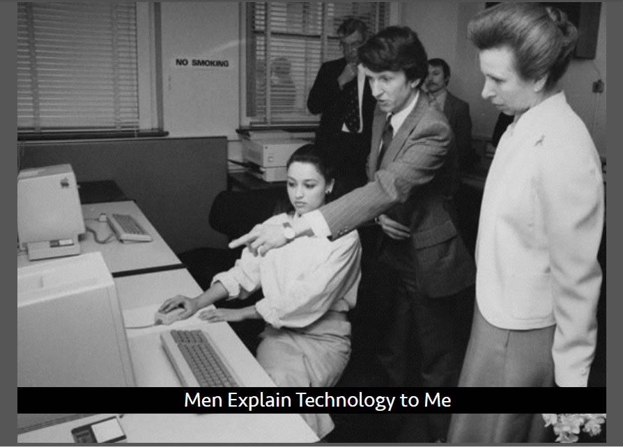 Men Explain Technology