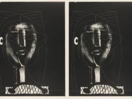 "Pablo Picasso, ""Black Figure"" (doubled)"