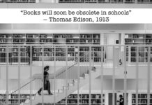 Edison on books