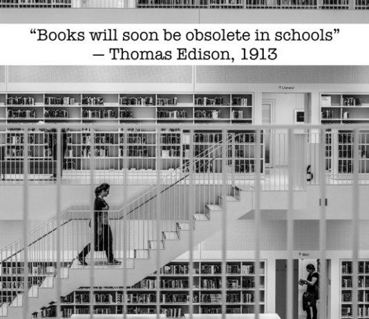 Edison on books