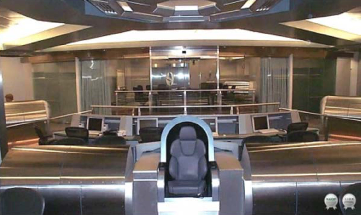 "Figure 5. NSA's Star Trek-inspired ""Information Dominance Center"" (see Greenwald, 2013)"