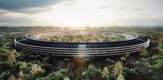 new Apple headquarters