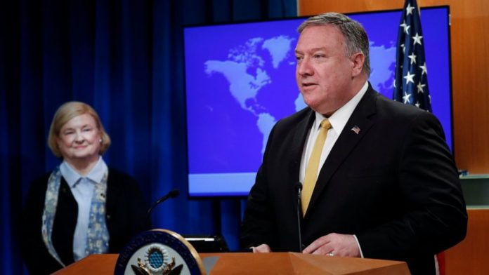Mike Pompeo and Mary Ann Glendon