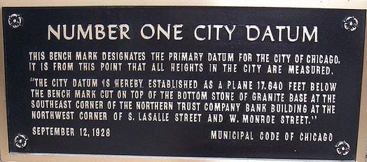 Chicago datum