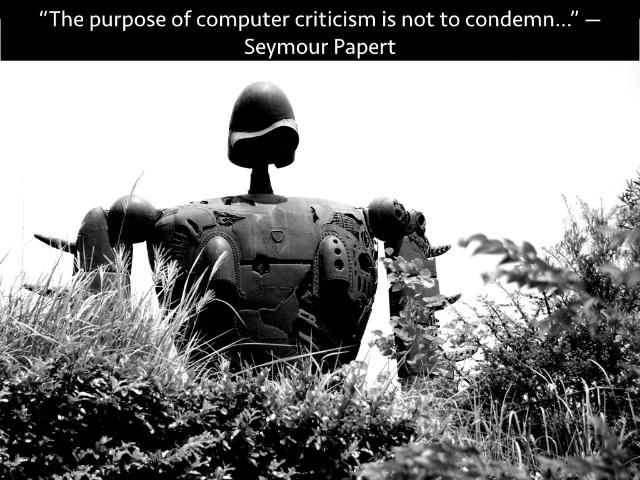 purpose of computer criticism
