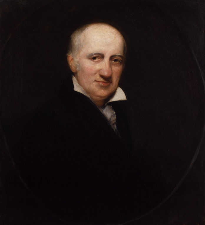 William Godwin, by Henry William Pickersgill