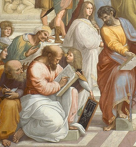 Pythagoras from Raphael's School of Athens