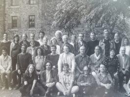 Bernard Stiegler and others at Cerisy-la-salle
